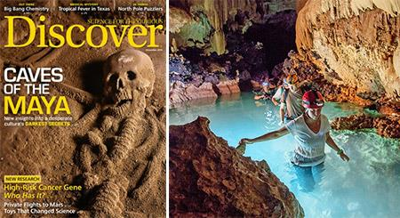 Discover Magazine features the ATM Cave of Belize!