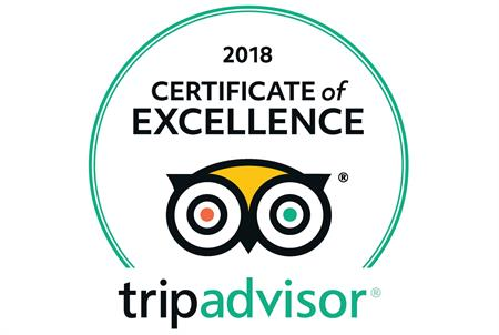 Ian Anderson's Caves Branch Jungle Lodge awarded 2018 Certificate of Excellence