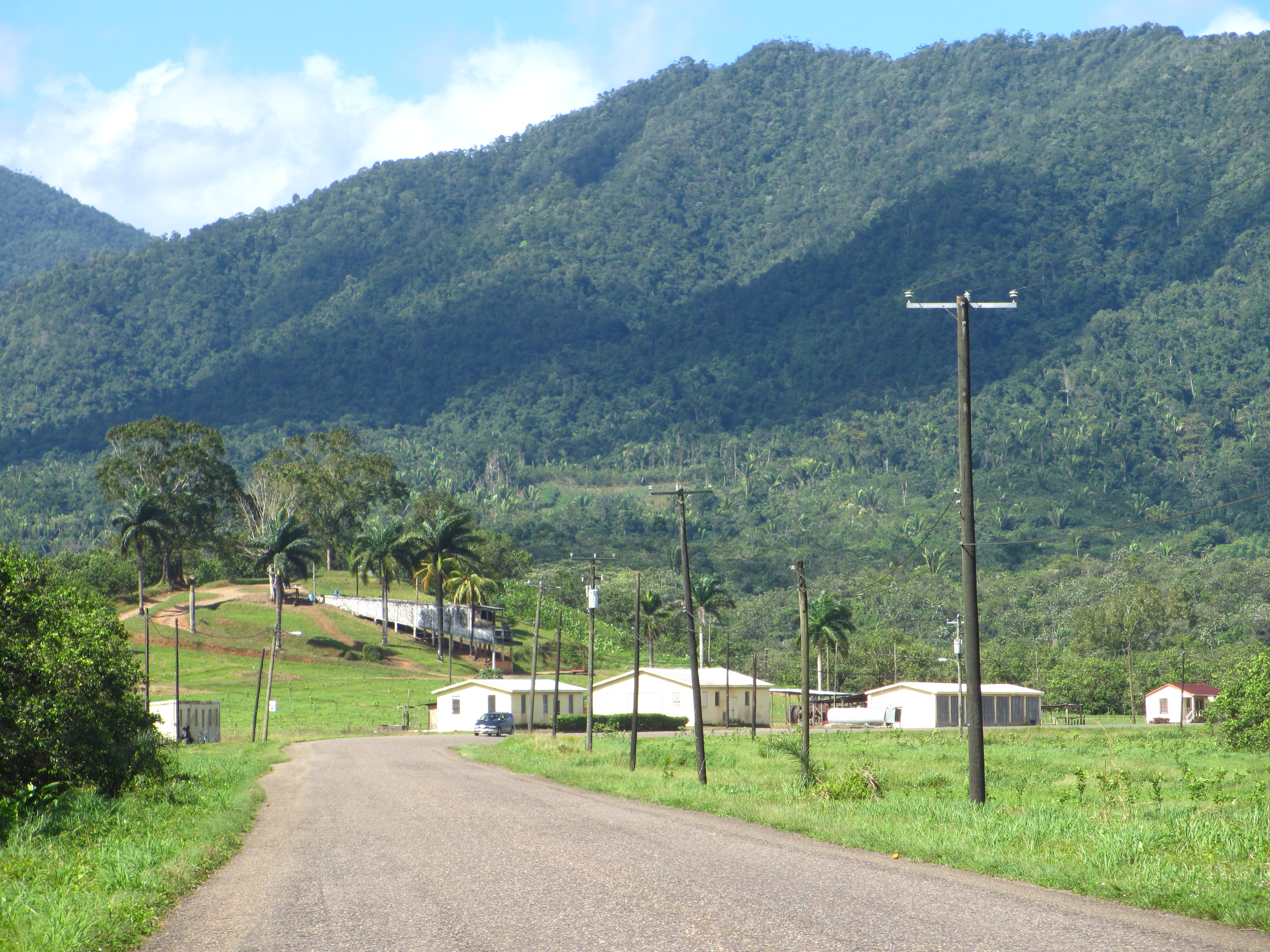 The Hummingbird Highway in Belize