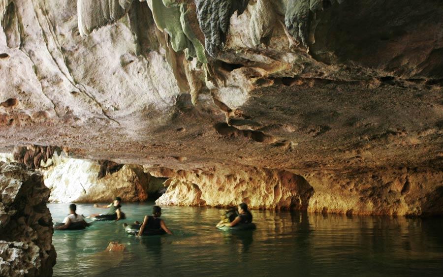 Belize River Cave Tubing