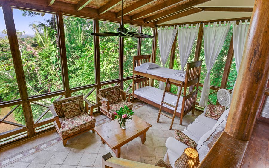Belize Riverview Two Bedroom Treehouse