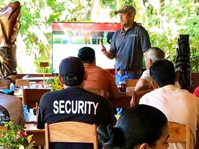 Belize community involvement