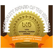 Belize jungle lodge - BTB award 2017